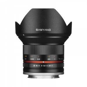 Samyang 12mm 1:2.0 NCS CS – Garanzia Fowa 4 anni