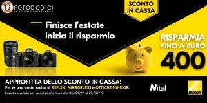 Nikon Instant Saving – Sconto In Cassa