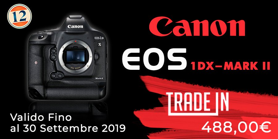 Canon 1DX Mark II – Trade In