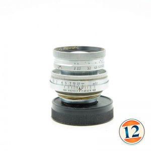 Leica Summitar 5cm F2 (50mm f2) Vite M39 39×1 LTM Rientrante