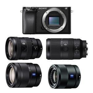 Sony a6100 (BODY) + Ottiche
