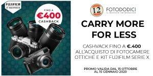 Fujifilm Winter Cashback – Ottobre/Gennaio