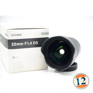 Sigma 20mm f/1.4 DG HSM Art x Canon