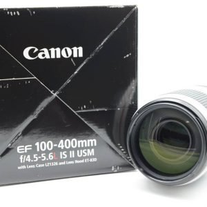 Canon EF 100-400mm f/4.5-5.6 L IS USM II