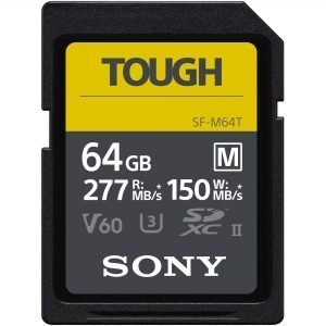 Sony – TOUGH M 64 GB