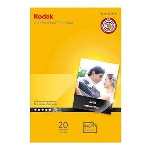 Kodak Carta Fotografica Satin Instant Dry Ultra Premium, 10X15