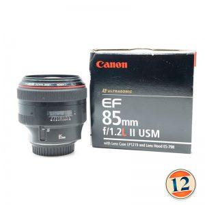 Canon EF 85mm f/1.2 L II USM