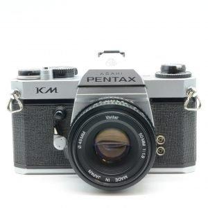 Pentax Asahi KX + Vivitar 50 mm + Duplicatore