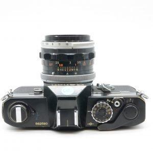 Canon FT con 50 f 1.8