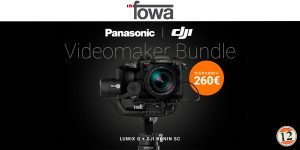 Panasonic VideoMaker Bundle / Kit Fotododici