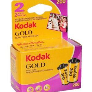 Kodak Gold Film 200, 135/24 x2