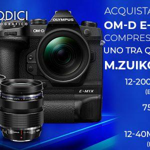 Olympus OM-D E-M1X Corpo – Garanzia Polyphoto Italia