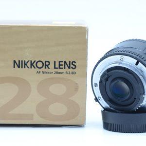 Nikon AF 28mm f/2.8 D