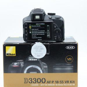 Nikon D3300 con 18/55