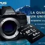 OLYMPYS E-M5 MARK III + SD AngelBird