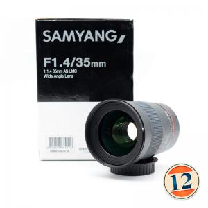 Samyang 35mm f/1.4 AS UMC x Canon EF