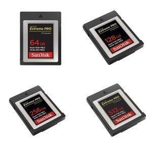 Sandisk CFexpress (64GB/128GB/256GB/512GB)