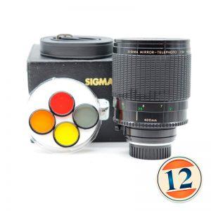 Sigma 400mm f5,6 (catadioptric/mirror lens) ( Nikon )