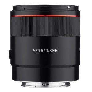 Samyang AF 75mm F1.8 ( Per Sony E ) – Garanzia  Fowa – Sconto 10%