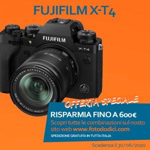 Fujifilm X-T4 body Garanzia Fujifilm Italia