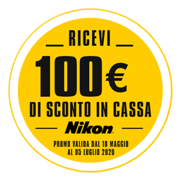 Nikon Z50 – Garanzia Nital Italia sconto in cassa 100 euro