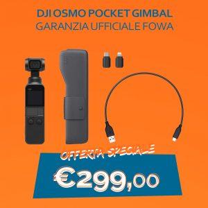 DJI Osmo Pocket_Gimbal_GARANZIA UFFICIALE FOWA