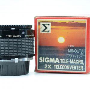 Sigma Duplicatore Focale Macro Minolta MD