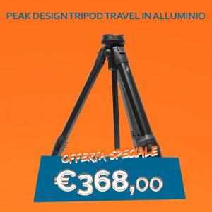Peak Design Tripod travel in Alluminio(TT-CB-5-150-AL1)