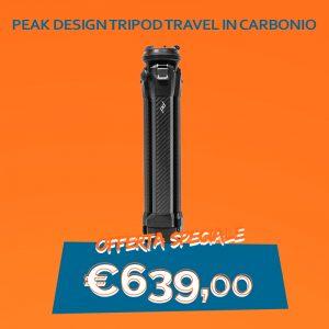 Peak Design Tripod travel in Carbonio(TT-CB-5-150-CF-1)
