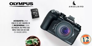 Olympus E-M1 Mark III -AV PRO SD 64GB MK2 inclusa nel prezzo