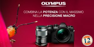 Olympus E-M1 Mark II – 60mm F2.8 in omaggio