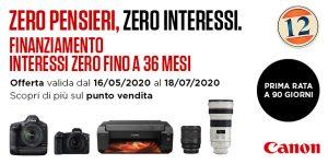 Canon Zero Pensieri Zero Interessi