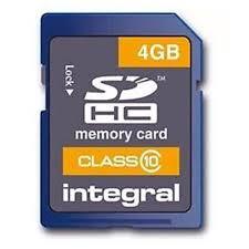 Integral SDHC Classe 10 4GB