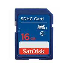 SanDisk Flash 16 GB SDHC