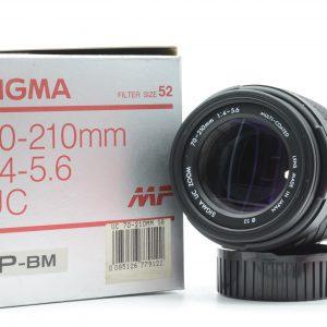 Sigma 70/210 f 4-5,6 Praktica B ( Nuovo )