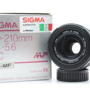 Sigma 70/210 f 4-5,6 Nikon AIS  ( Nuovo )