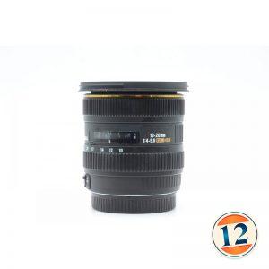 Sigma 10-20mm f/3.5 EX DC HSM x Canon