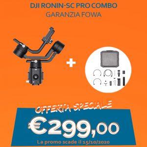 DJI RONIN-SC Pro Combo – Garanzia FOWA
