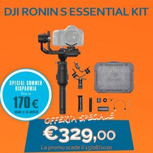 DJI Ronin S Essential Kit – Risparmia 170 Euro