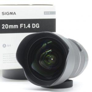 Sigma 20mm f/1.4 DG HSM Art x Sony