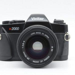 VIVITAR V2000 + SIGMA 28/70