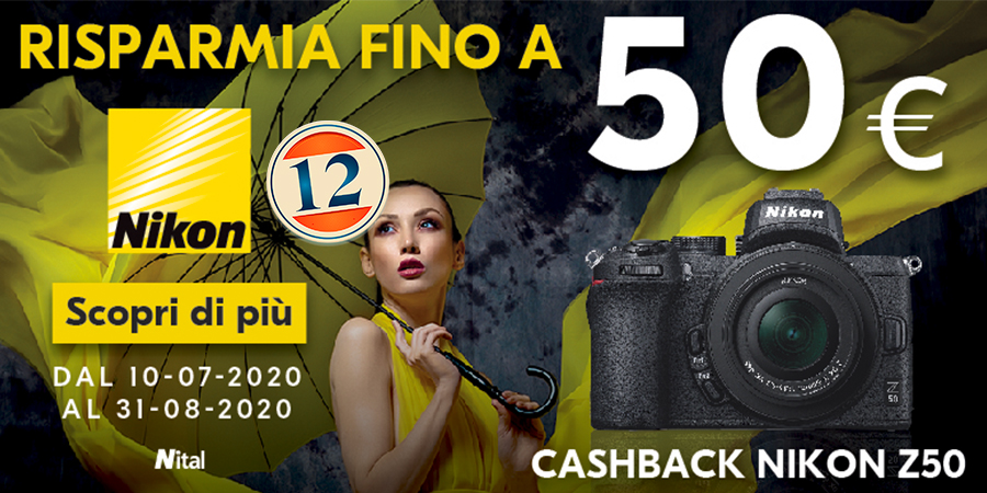 Nikon Z50 Summer Cash Back