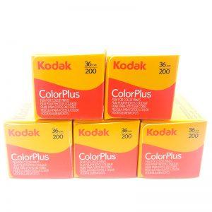 Kodak ColorPlus 200 x 5