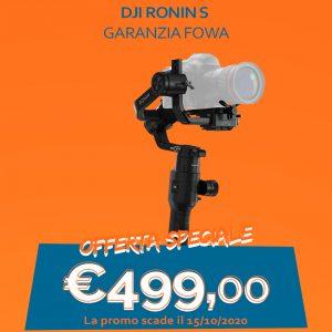 DJI Ronin S – Garanzia FOWA