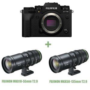 Fujifilm X-T4 – MK X18-55mm T2.9 – MK X50-135mm T2.9 Sconto in cassa 1.000 Euro