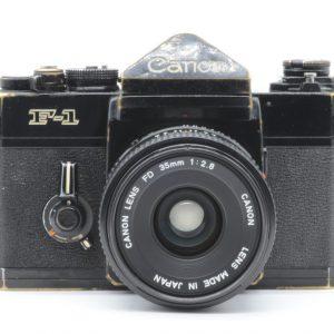 Canon F-1 con 35 f 2.8