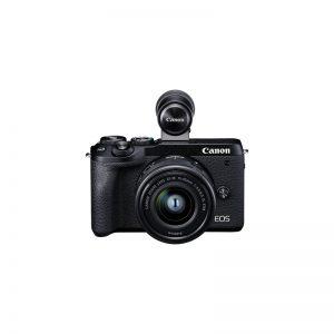 Canon EOS M6 Mark II con 15/45 + Mirino – Garanzia Canon Italia