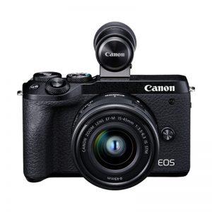 Canon EOS M6 Mark II con 15/45 + Mirino – Garanzia Canon Italia – Rottama il tuo usato 120€