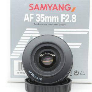 Samyang FE 35mm f/2.8 AF x Sony