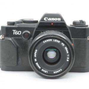 Canon T60 con Canon 35 FD 2.8